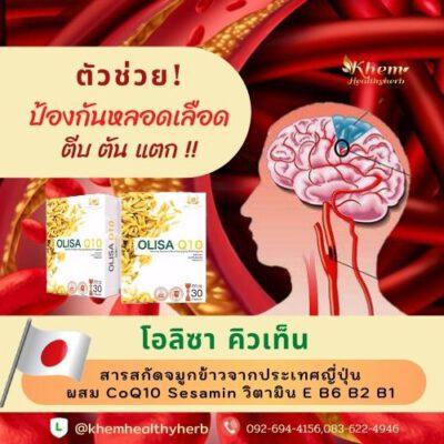 olisaq10 หลอดเลือดสมอง หลอดเลือดหัวใจ